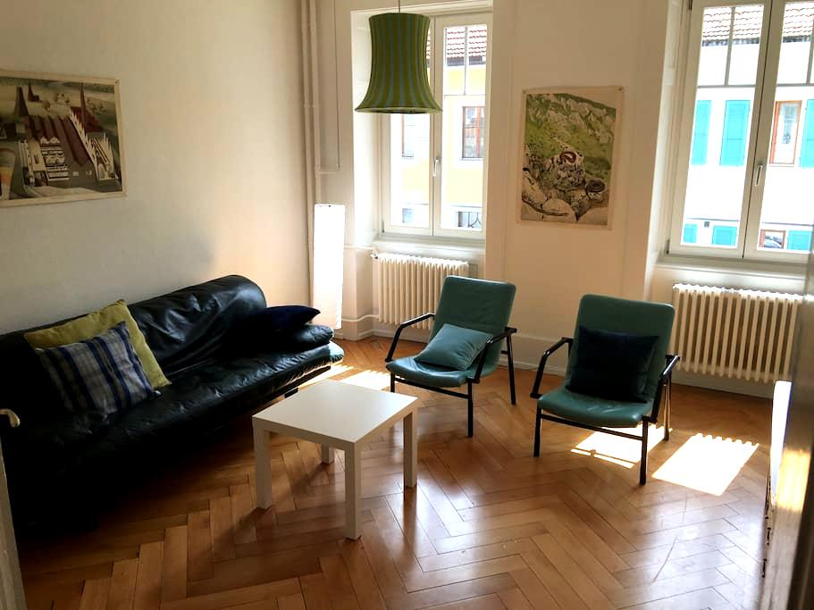 Nice 2 bedrooms and 1 living room. WIFI. - Saint-Imier - Appartement