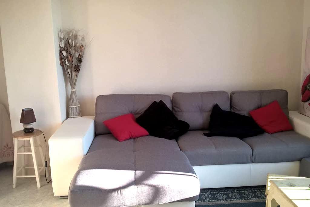 Chambre appartement lumineux à 10 min du CV - Besançon - Apartment