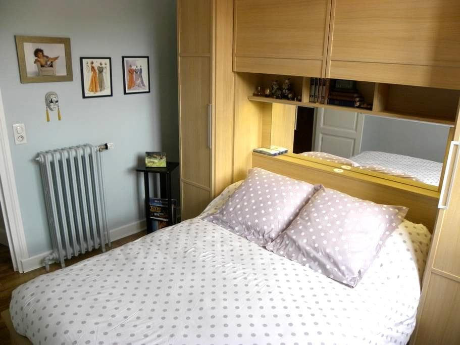 chambre indépendante dans appartement. - Le Puy-en-Velay - Lägenhet
