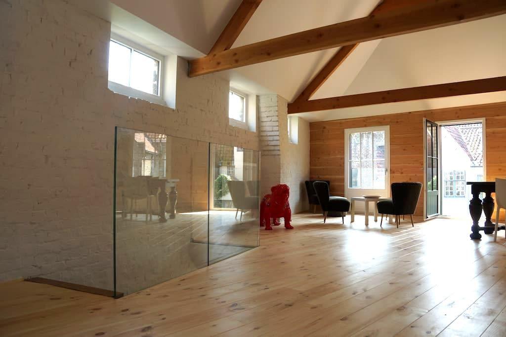 luxurious loft in historic heart of Bruges - Brugge - Loft
