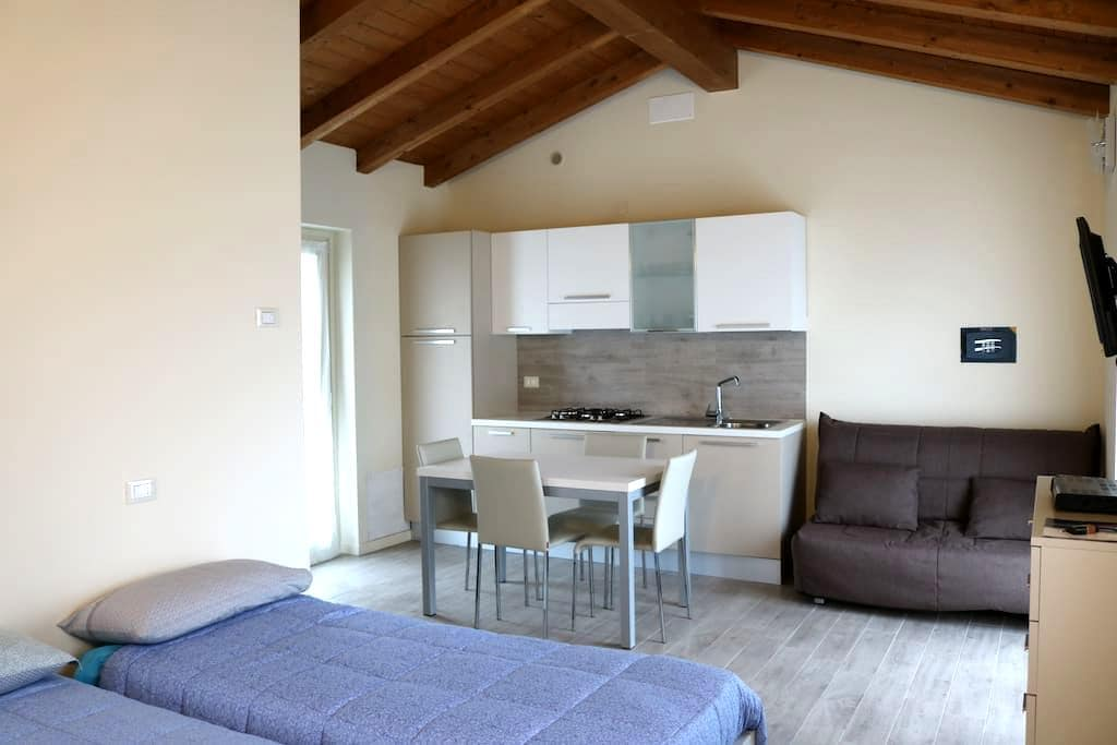 Miniappartamenti nel verde - Ferriere - Leilighet