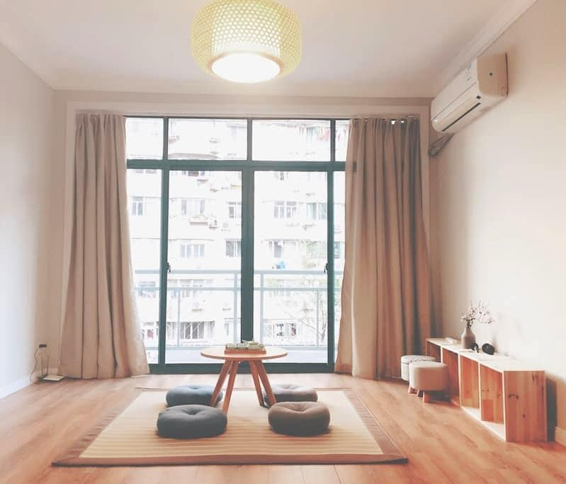 404A Cozy room near French Concession| Metro L2/11 - Shanghai - Lejlighed