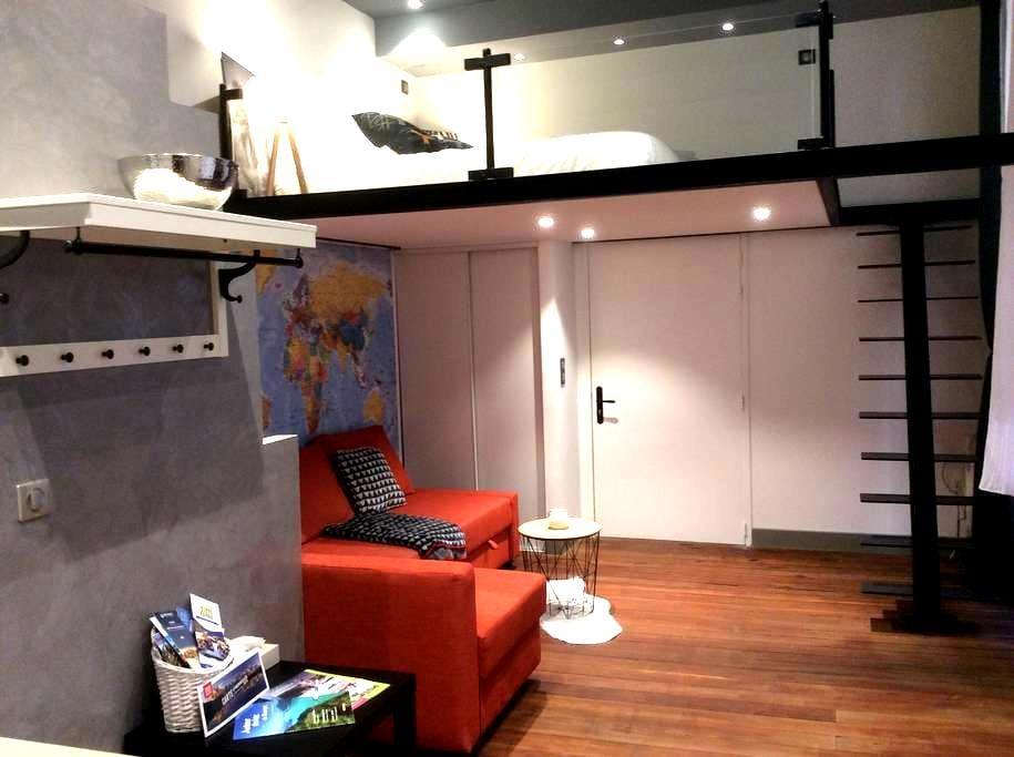 Studio rare plein centre - Chambéry - Apartemen