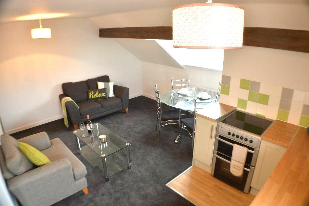 Cosy Loft Apartment - Salford - Lägenhet