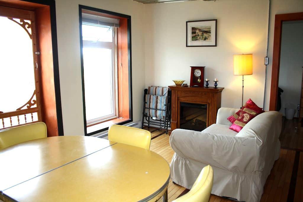 Appartement de l'artiste - L'Isle-Verte - Huis
