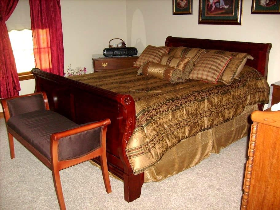 Private room+Comfy Bed = HAPPINESS! - Live Oak - Casa
