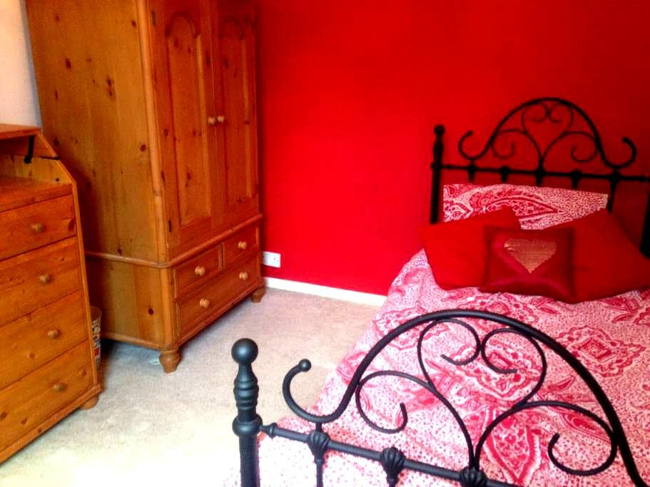 Room in Victorian House close to Town Centre - Reading