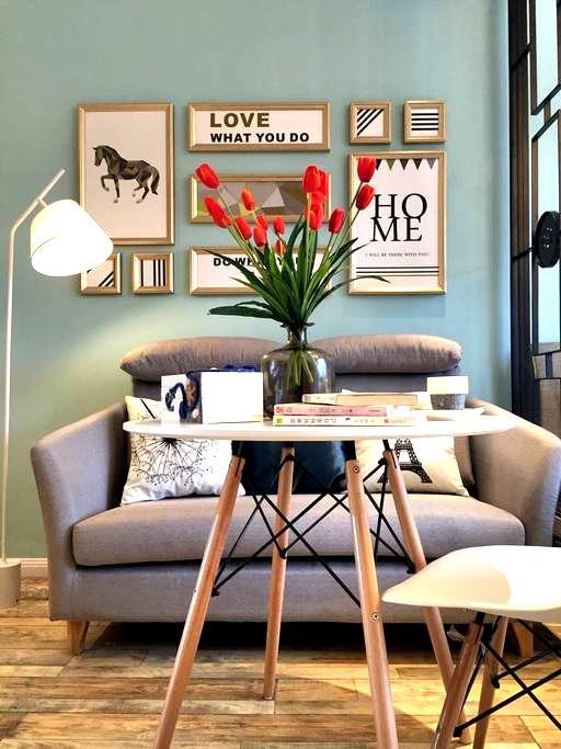 Tiffany蓝 的家居范 - 宁波市 - Apartmen