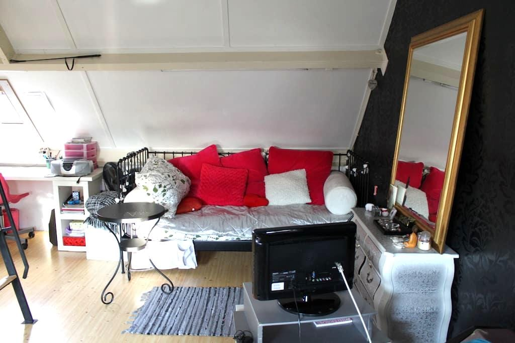Nice attic room, nearby Strijp S and city center - Eindhoven - Talo