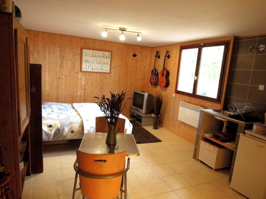 Studio indépendant sur les hauteurs du Lauragais - Pechabou - Rumah