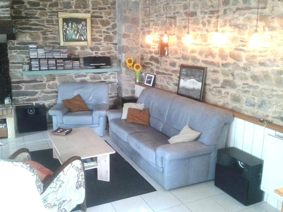 Maison en Brocéliande - Saint-Malo-de-Beignon - Hus