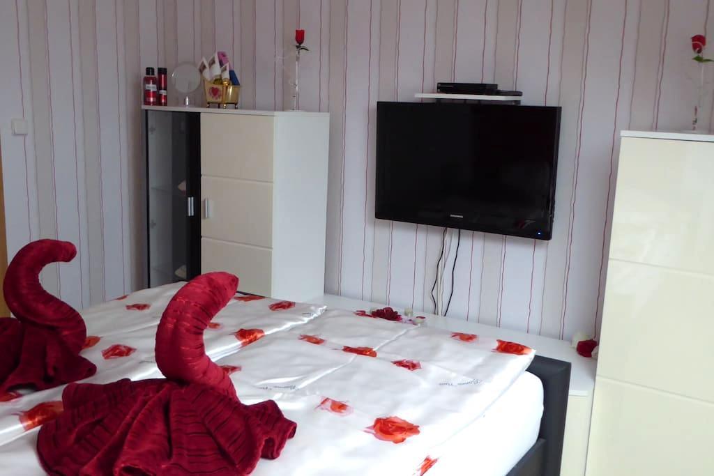 kleines gemütliches Rosenzimmer nördl.Schwarzwald - Pforzheim - Appartement