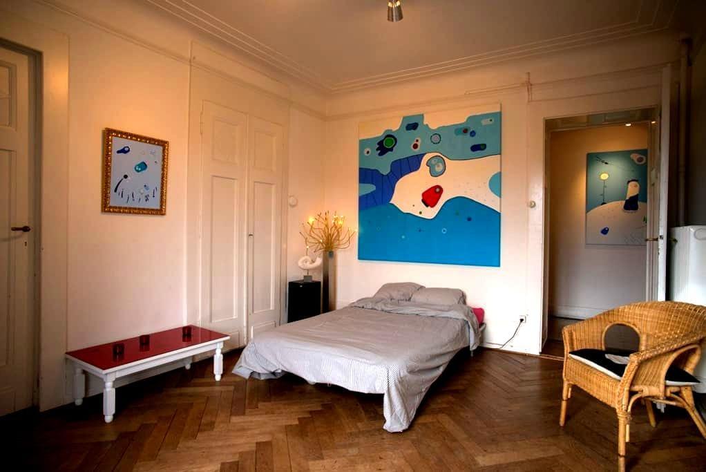 Belle chambre lumineuse - Lausanne - Leilighet