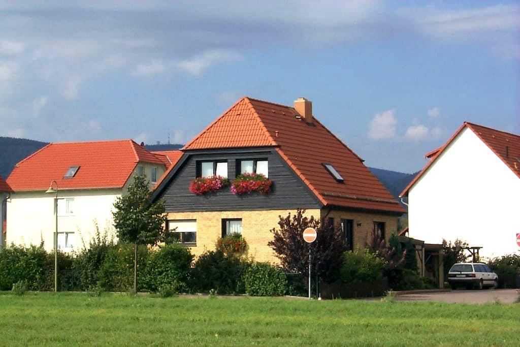 Gemütliche u. moderne Ferienwohnung - Darlingerode/Harz - Apartment
