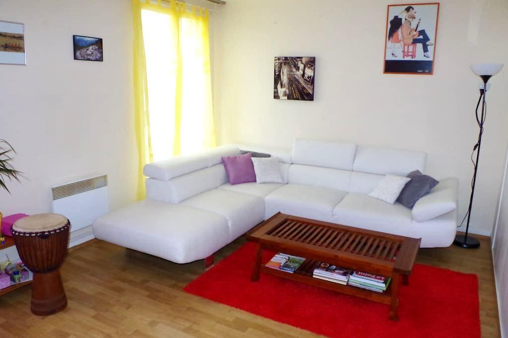 Grand appartement au centre ville - Châtillon-sur-Seine - Apartament