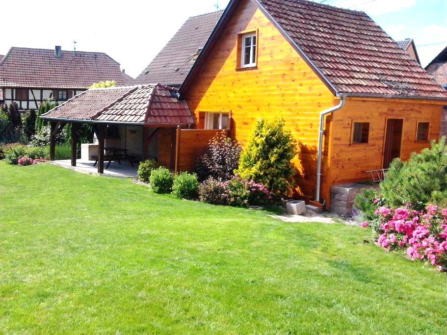 Gîte en Alsace - Artolsheim - 一軒家