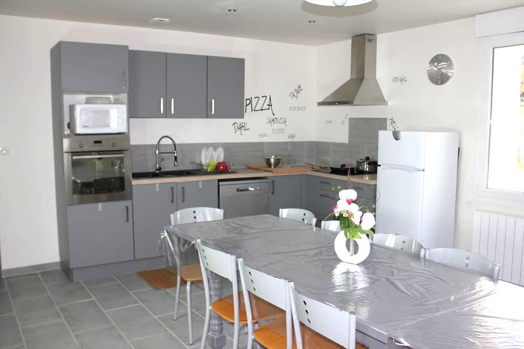 Chambres doubles meublées de septembre à juin - Marmande - Apartment