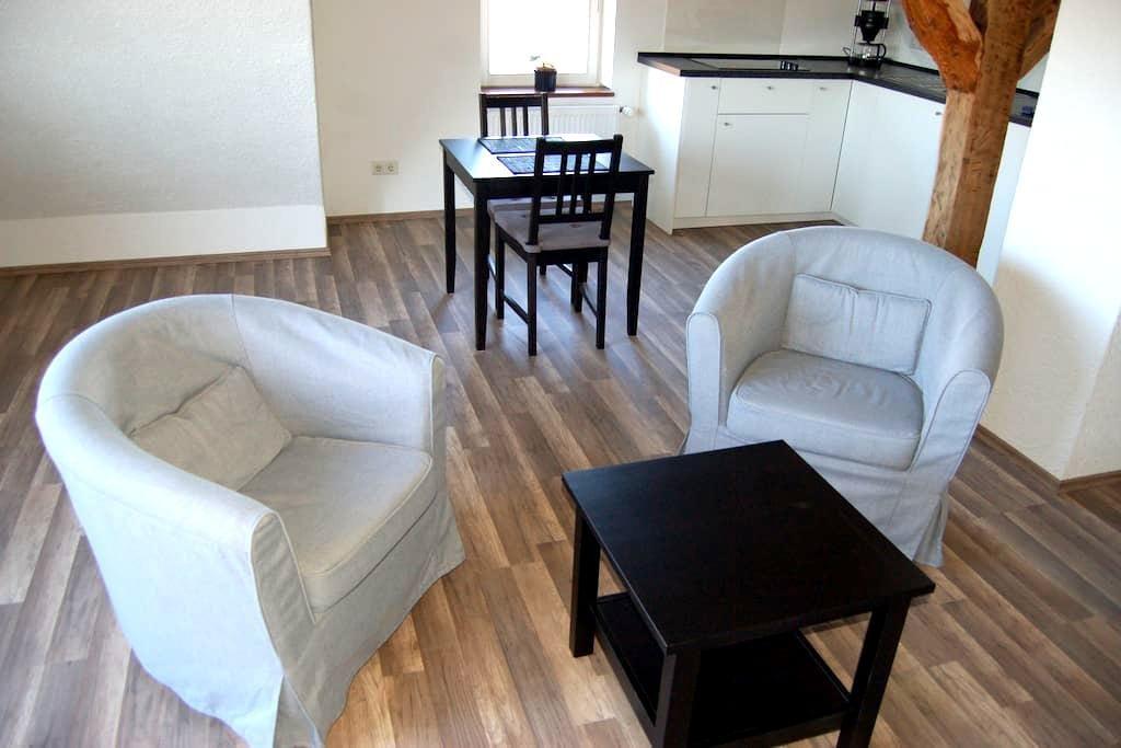 Wohnung im Fachwerkhaus mit Parkplatz - Kassel - Apartment
