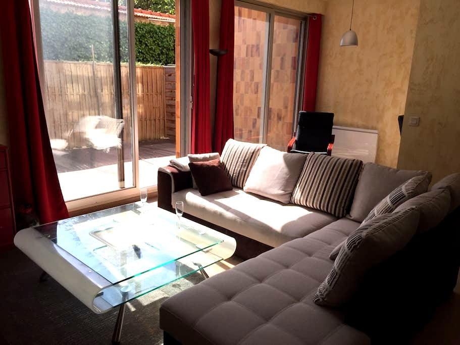 70m2: IDEAL POUR UN WEEKEND EN AMOUREUX!!! - Reims - Apartamento