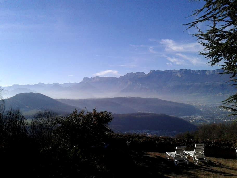 In nature, peaceful, 15min from Grenoble - Herbeys - Apartment