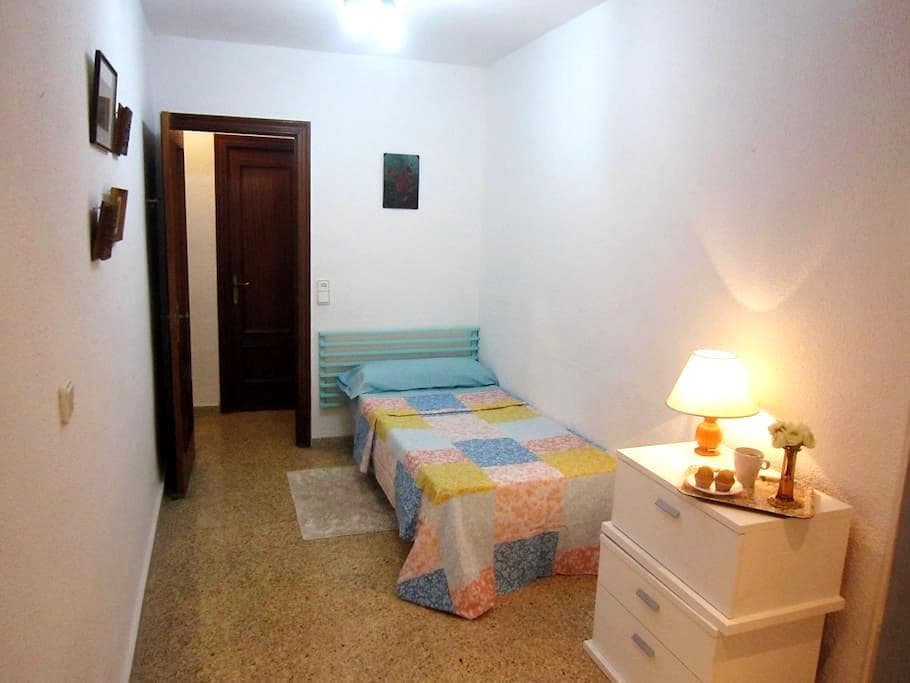 Habitación en Piso Compartido con Terraza, WiFi - València - Departamento