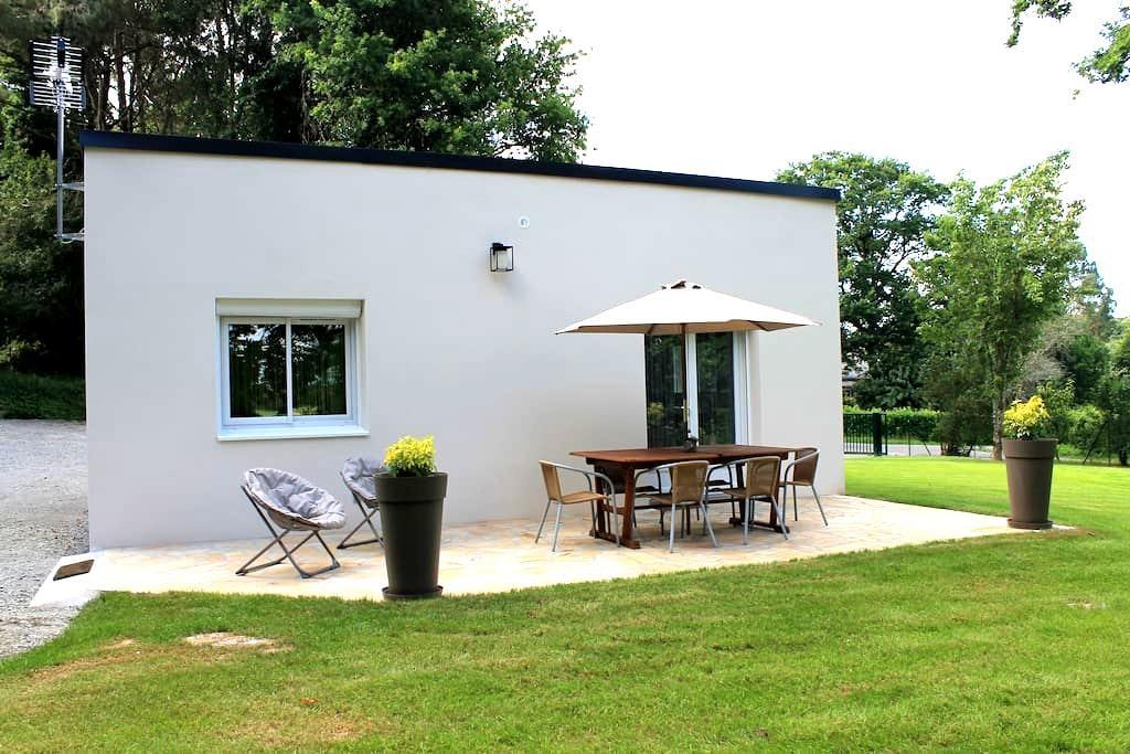 Maison au calme avec vue sur la vilaine - La Chapelle-de-Brain - Huis