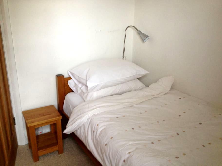 Single room overlooking garden & private bathroom - 倫敦 - 獨棟