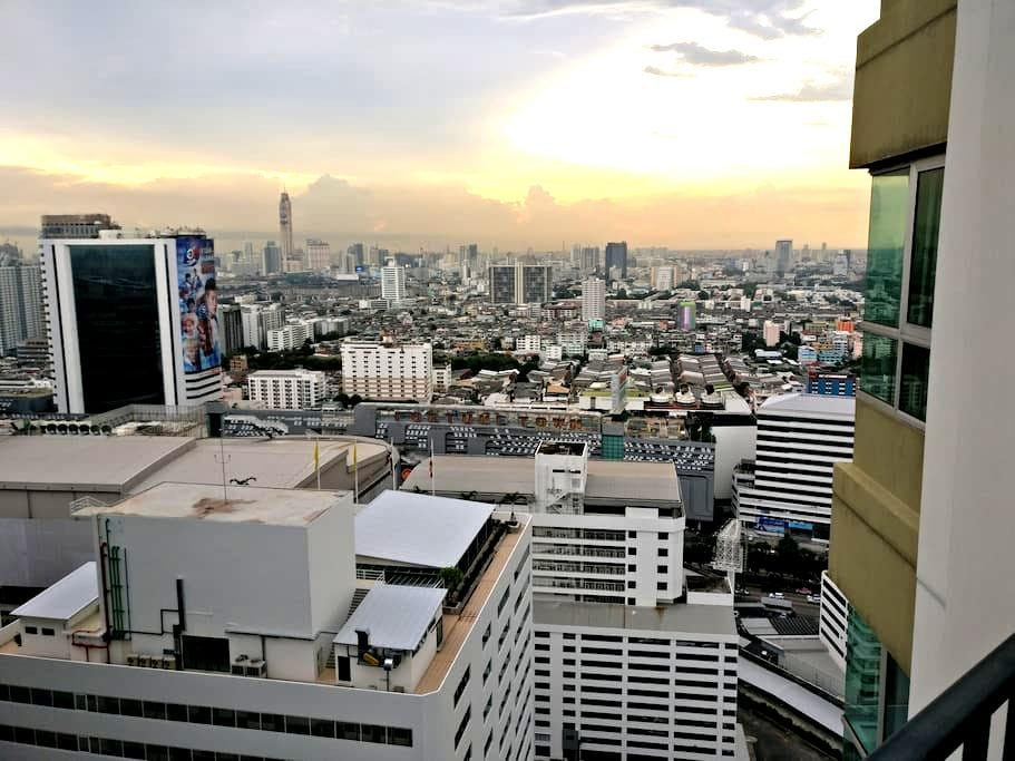 Nice private room with own bathroom close to MRT - Bangkok - Wohnung