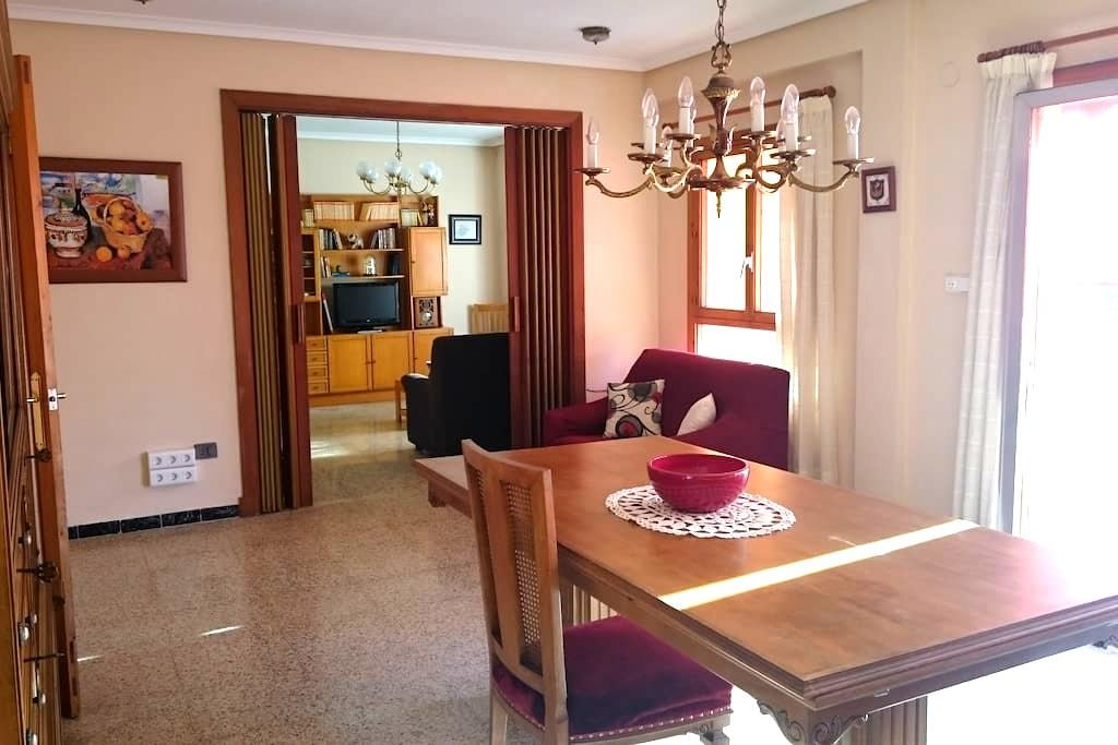 Amplio y luminoso apartamento - Carcaixent - Apartment