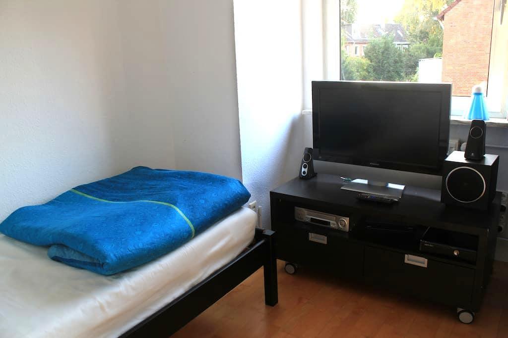 Comfortable Rooms for 3 close to the City Center - Hamburgo - Casa