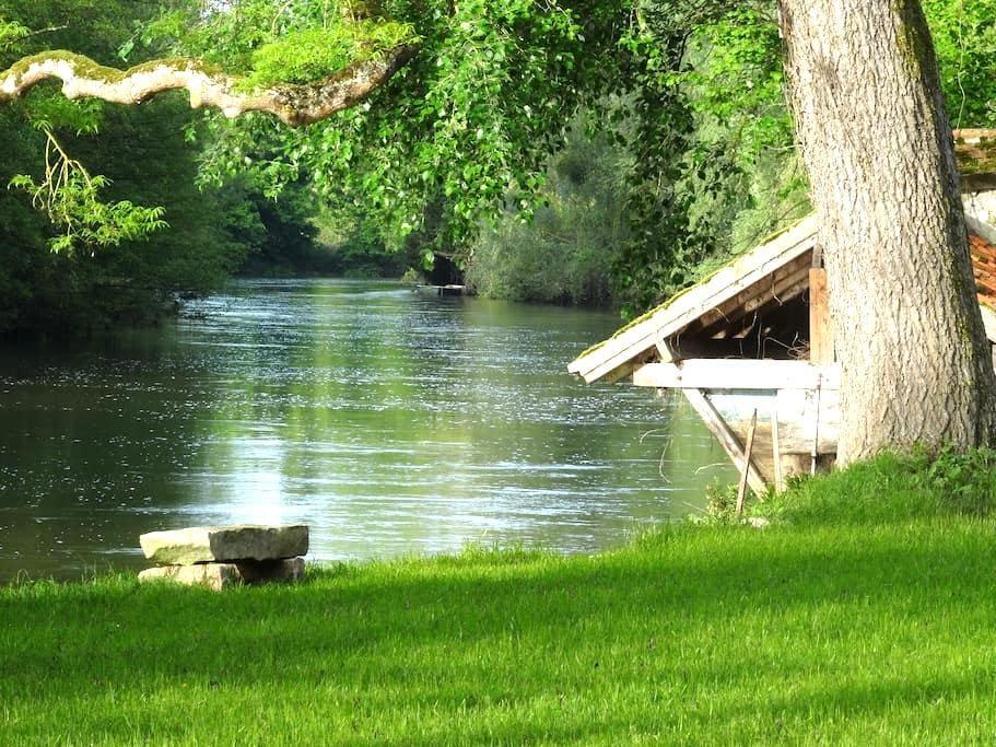 Séjour forêt, escalade et le Loing - Montigny-sur-Loing - Loft空間