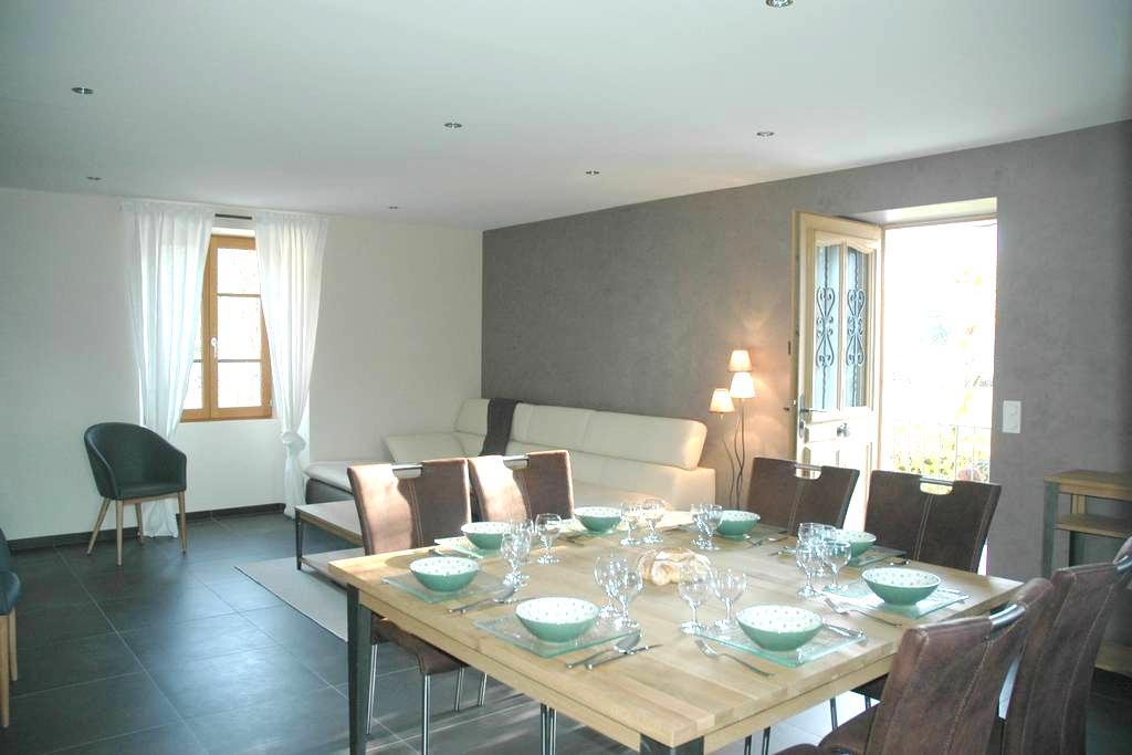 Belle propriété 100 m² avec jardin - Faverges - Daire