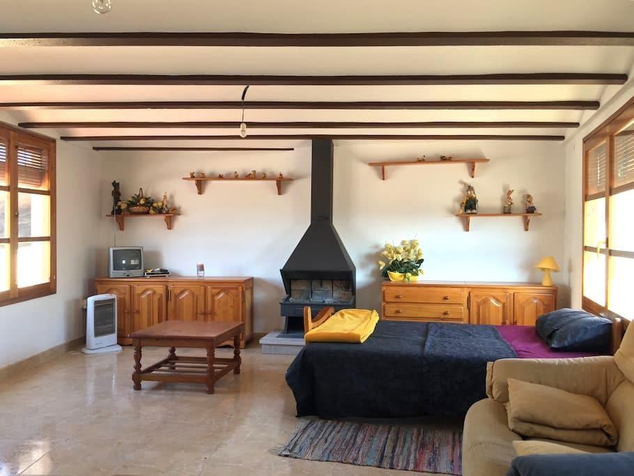 Casa rural céntrica para grupos o familias - Calaceite - Ev