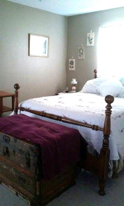 Cozy room  in home with heated pool. - Spring Hill - Casa