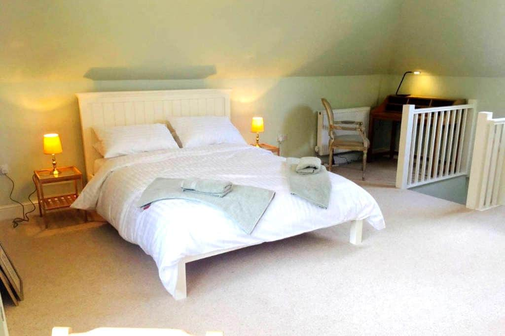 Peaceful self-contained flat in private road - Great Shelford - Daire