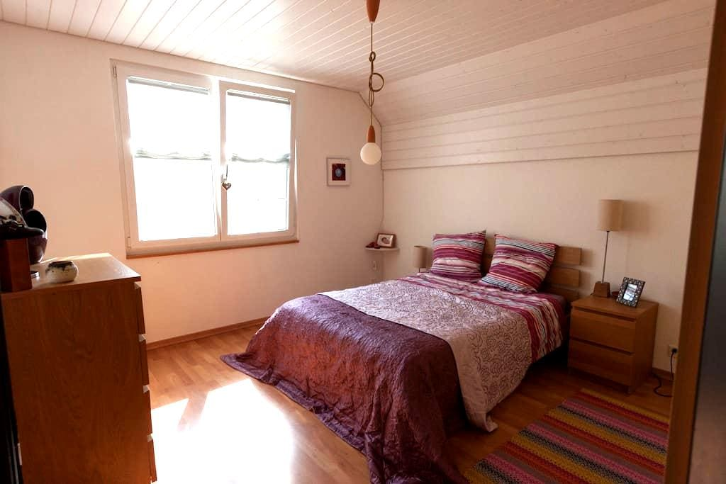 Cosy double room in family house - Grellingen - House