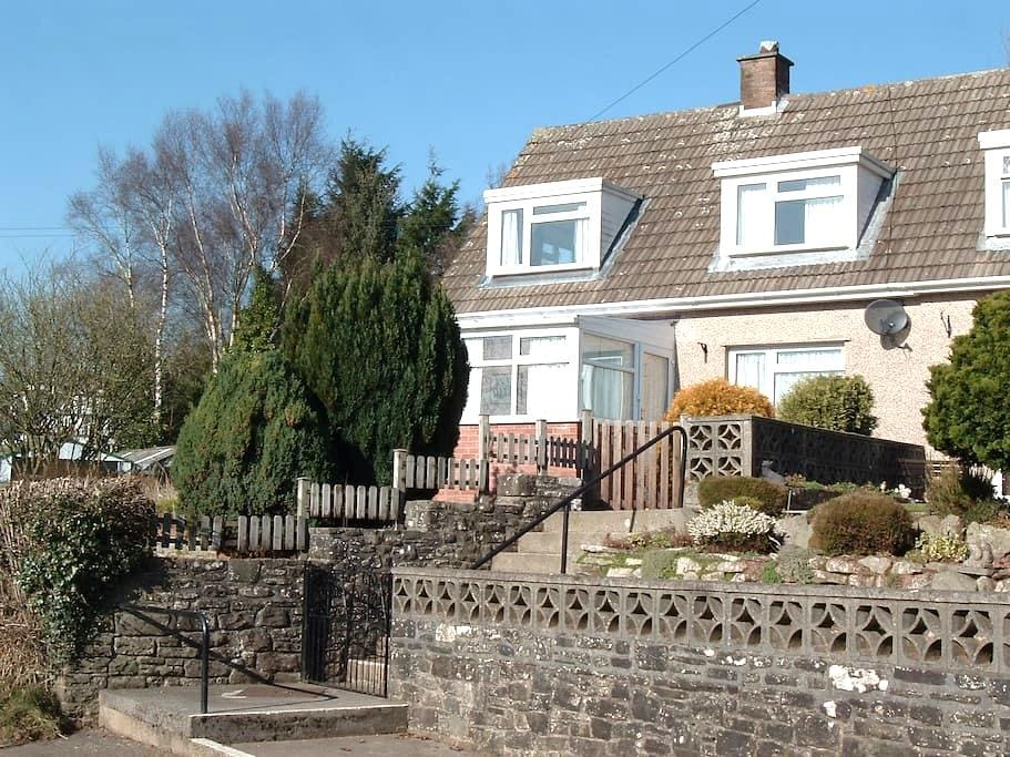 Cosy twin bedroom in quiet location - Brecon - Huis