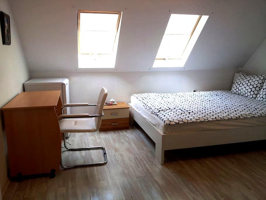 Cozy room+bathroom, Sofia center - Sofya - Daire