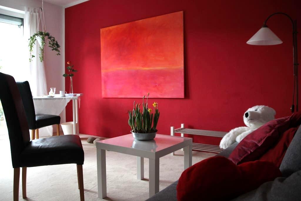 wunderschönes Zimmer mit Balkon - Würzburg - Stadswoning