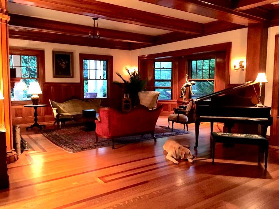 "Edmister House, Historic ""Cottage"" West Wing Suite - ピッツフィールド - 別荘"