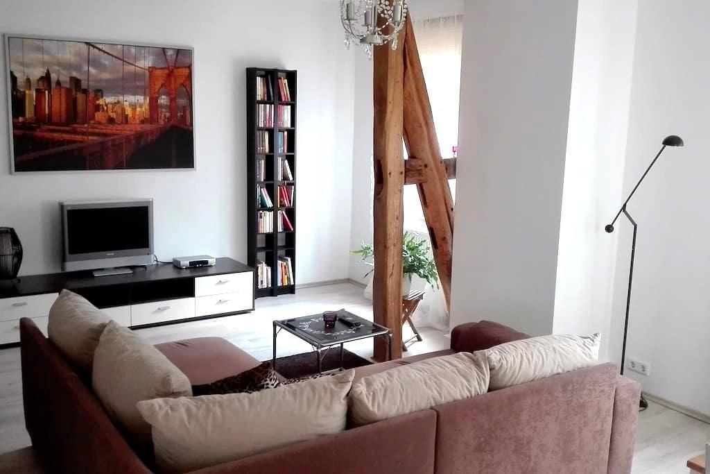 Appartement nahe ICE Bahnhof / Stadthalle Kassel - Kassel - Lägenhet