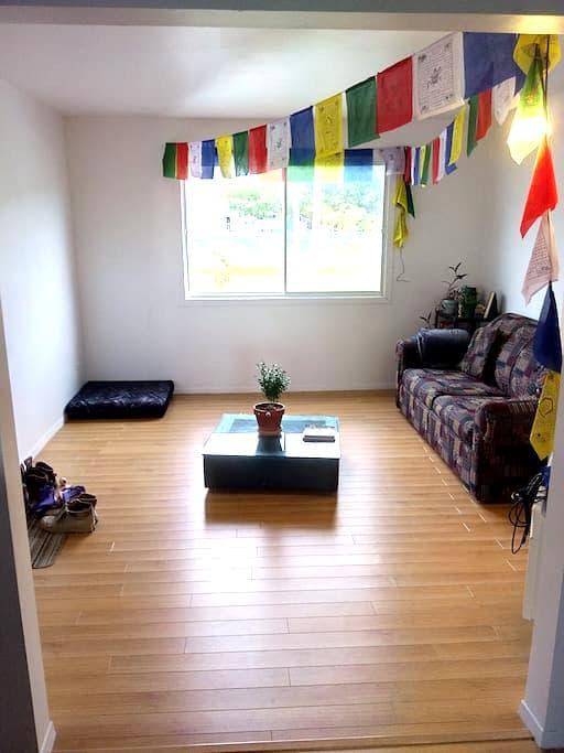 Private room near Sherbrooke's University - Sherbrooke - Leilighet