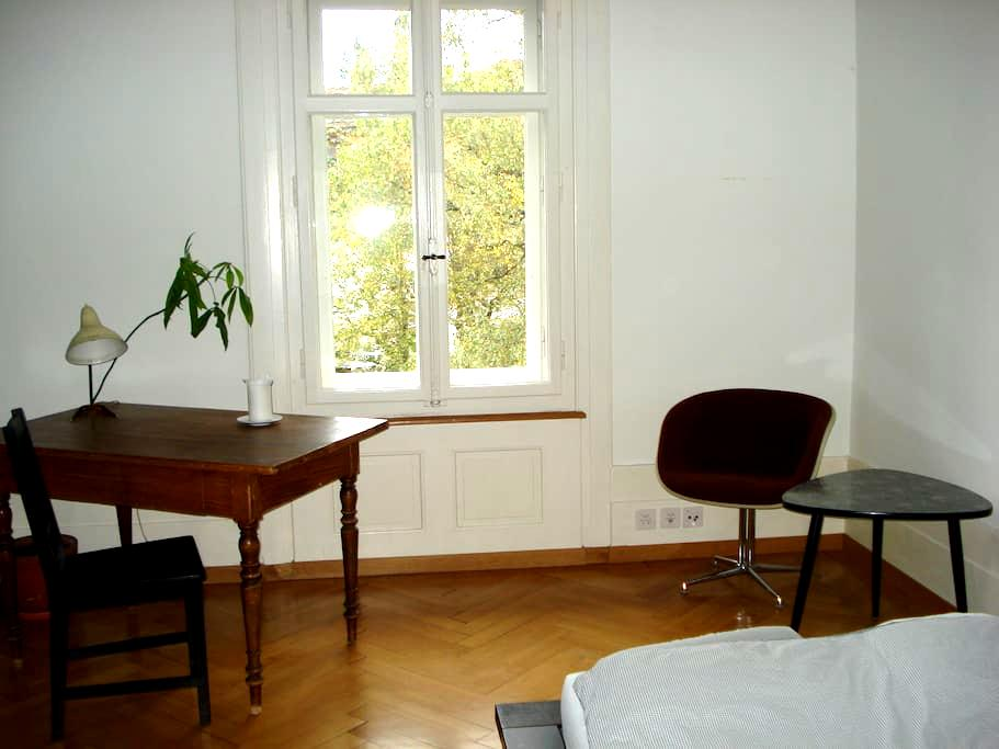 Beautiful room in lovely flat near Old Town - Bern - Apartemen