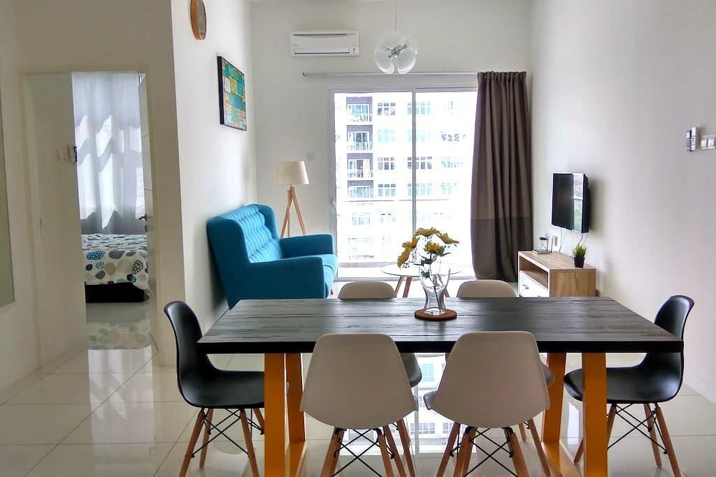 Cozy apartment @ Puchong SKY.POD IOI SUNWAY 蒲种 民宿 - Puchong - Appartement