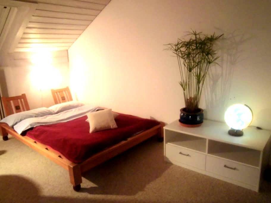 Ruhiges, schönes Zimmer mit eigenem Bad / Kempten - Kempten (Allgäu) - Radhus