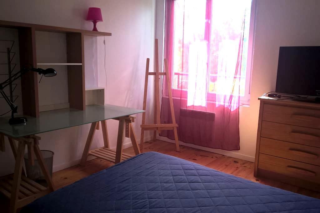 Chambre calme et accueil  sympathique - Beauzelle - Casa