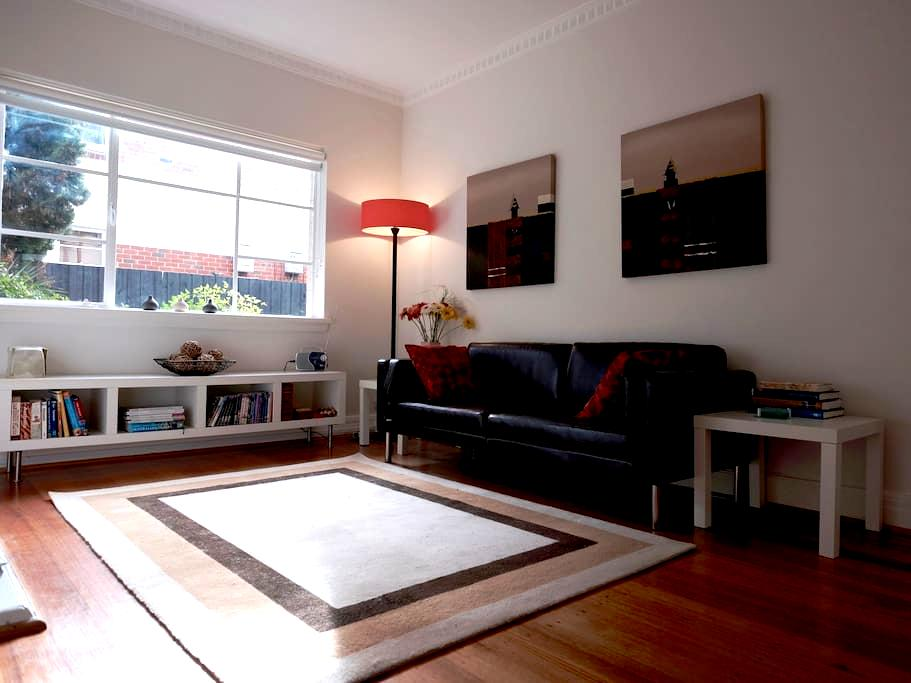 Michelle's place - a stylish home away from home - Saint Kilda East - Apartmen