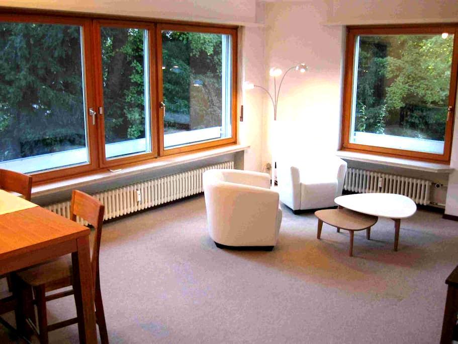 appartement 1er étage & pkg, bien situé - Binningen - Apartment