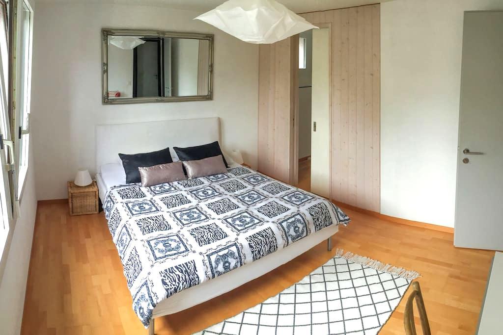 Cosy private room in Gruyère Region - Riaz - Huis