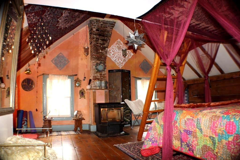 Lotus Suite Tweefontein Herb Farm - Нью-Палц - Дом